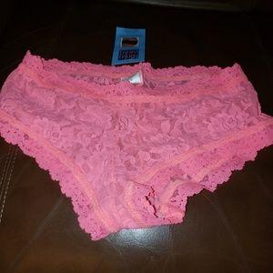 Nwt Hanky Panky Boyshort Underwear Small